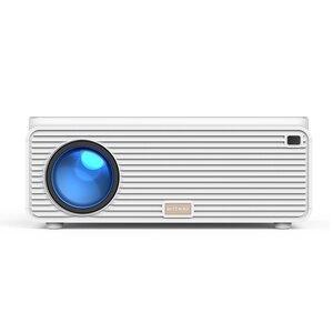 Blitzwolf LCD проектор 6500 люмен 16 Гб bluetooth 4,0 RJ45 LAN 4K разрешение несколько портов встроенный динамик мобильный телефон