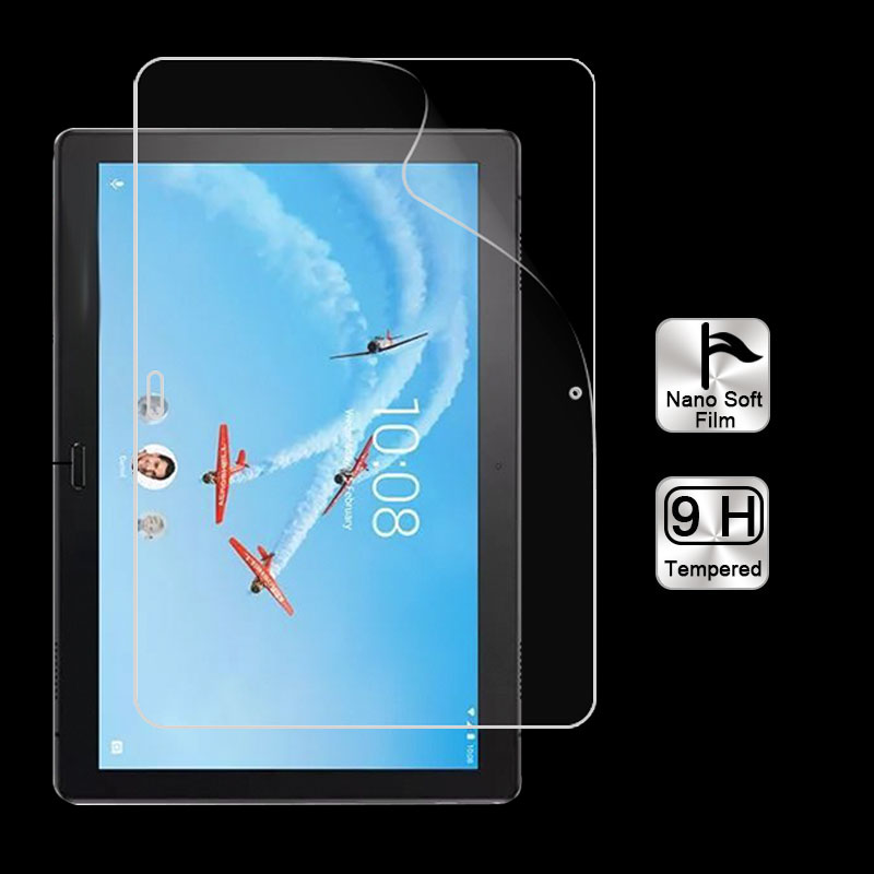 Explosion-proof Nano soft film For Lenovo Tab P10 TB-X705F M10 10.1 in TAB Anti-shatter screen protector films Front Clear Cover(China)