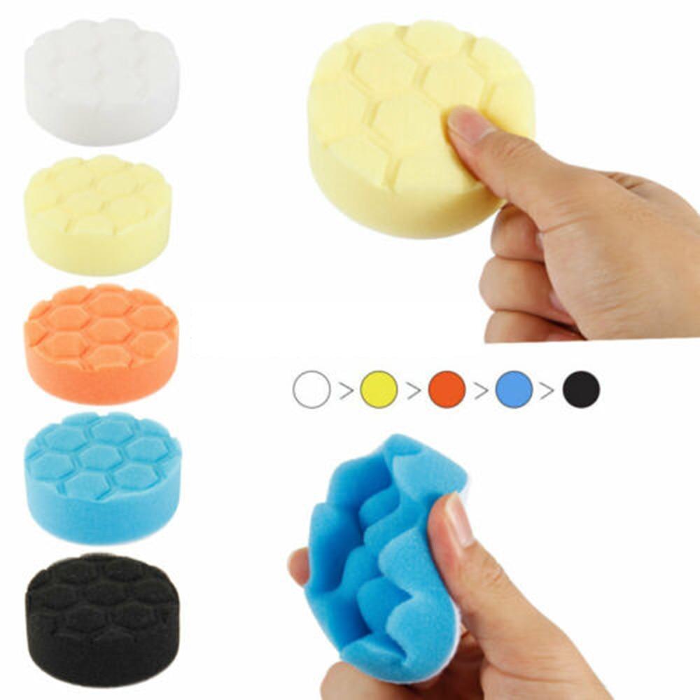 39 Pcs Sponge Polishing Pad Set Buffing Buff Polishing Waxing Pads Car Polishers