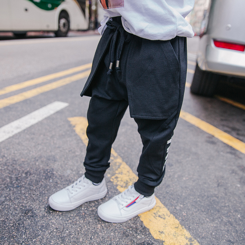 Original Design Spring Models Pants dan ku 2021 New Children's Clothing Korean Version of the  Sports Pants Male Trousers 2
