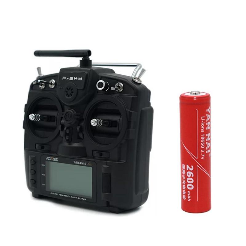 1 PC 3.7V 2600mAh 18650 Li-ion Battery for FrSky X9 Lite Radio Transmitter