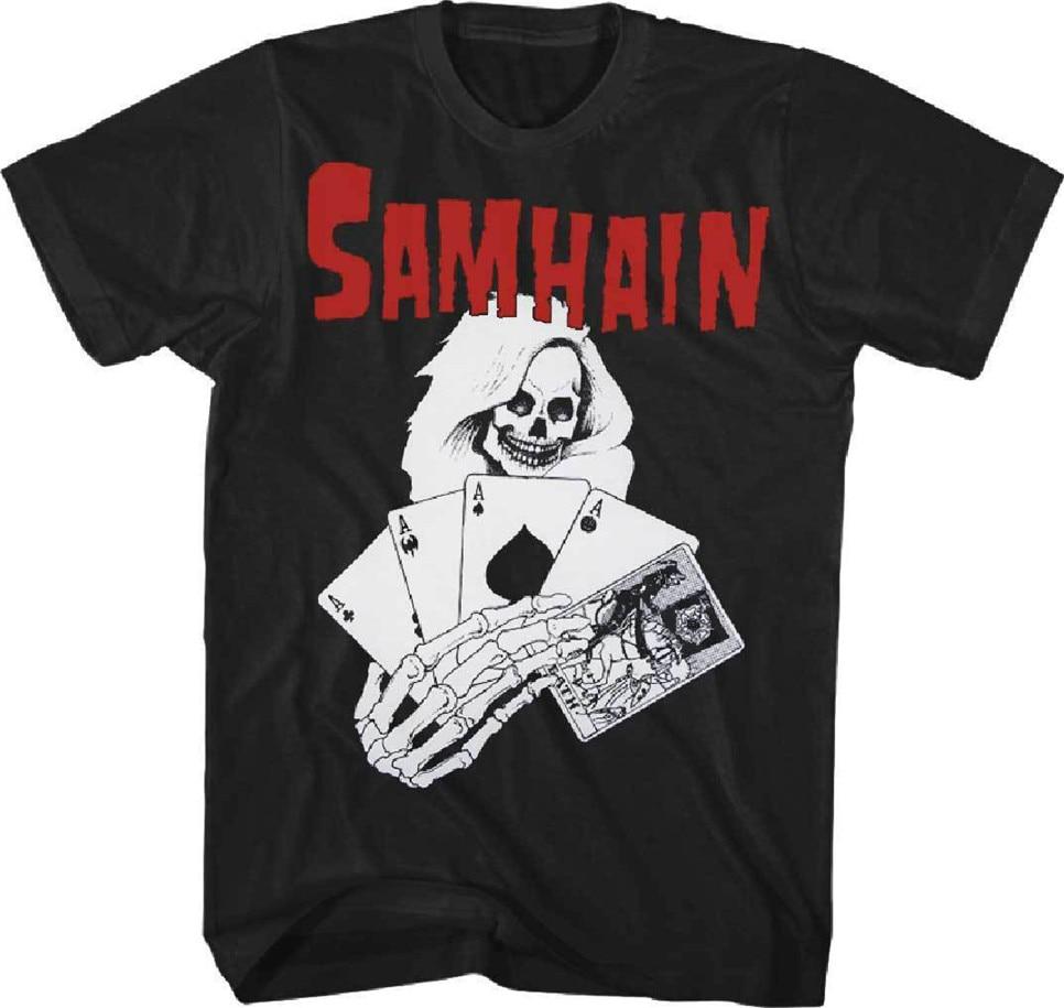 New Misfits Classic Fiend Skull Danzig Punk Shirt badhabitmerch SML-2XL
