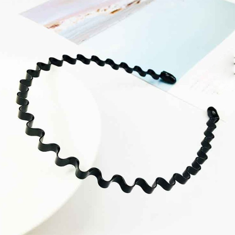 1PC Fashion New Women Girls Black Wave Hair Bands Cute Hair Hoop Head Wear Hair Style Tools Accessories Gift Headband