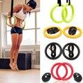 Высокое качество ABS упражнения фитнес гимнастические кольца гимнастические упражнения Кроссфит подтягивания мышц Ups тренировки для дома т...