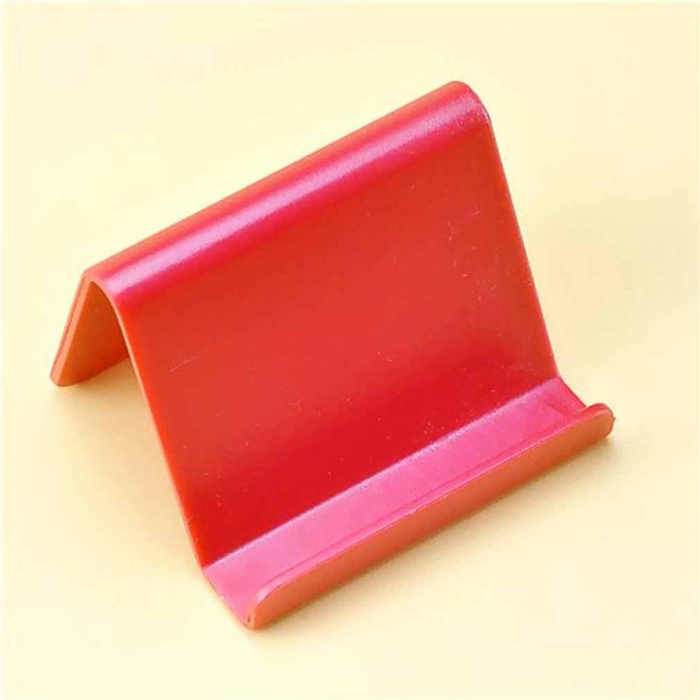 ミニポータブル携帯電話ホルダーキャンディー固定ホルダー家庭用品キッチンアクセサリー装飾電話