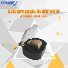 Rechargeable Hearing AIDS Sound Amplifier EU/US Standard Plug USB Hearing Aid Device In Ear Aparelho Auditivo недорого