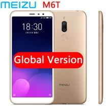 """Оригинал MEIZU 6T MEILAN m6t Восьмиядерный 5,7 """"HD IPS экран 4G LTE 2/3 Гб RAM сотовый телефон двойная задняя камера"""