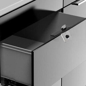 Image 3 - Smart Lade Vingerafdruk Slot Legering Intelligente Elektronische Lock Anti Diefstal Veiligheidsslot Voor Opslag Kast Bureau