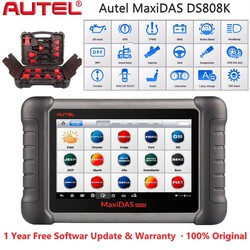 2021 Autel MaxiDAS DS808K All Systems Car Diagnostic Tool ABS SRS EPB BMS IMMO Oil Reset Diagnostic Tools Than DS808 DS708