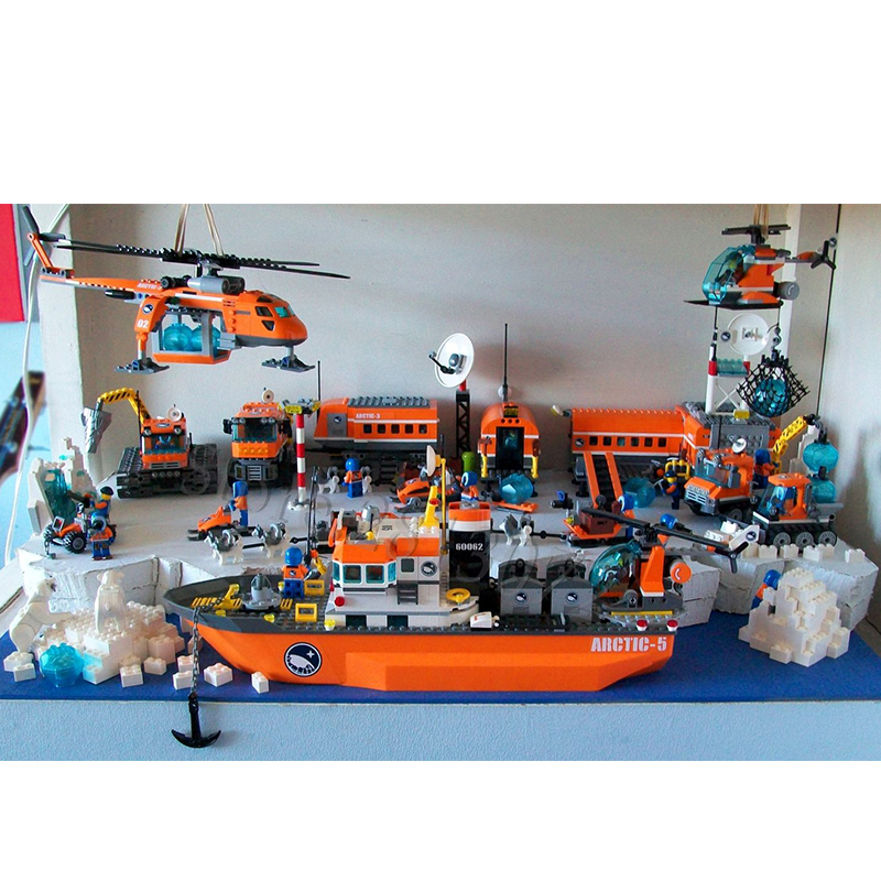 In Stock Building Kits Blocks Bricks Compatible With 60034 60035 60064 60036 60062 60192 60194 60196 60195  02111 02112