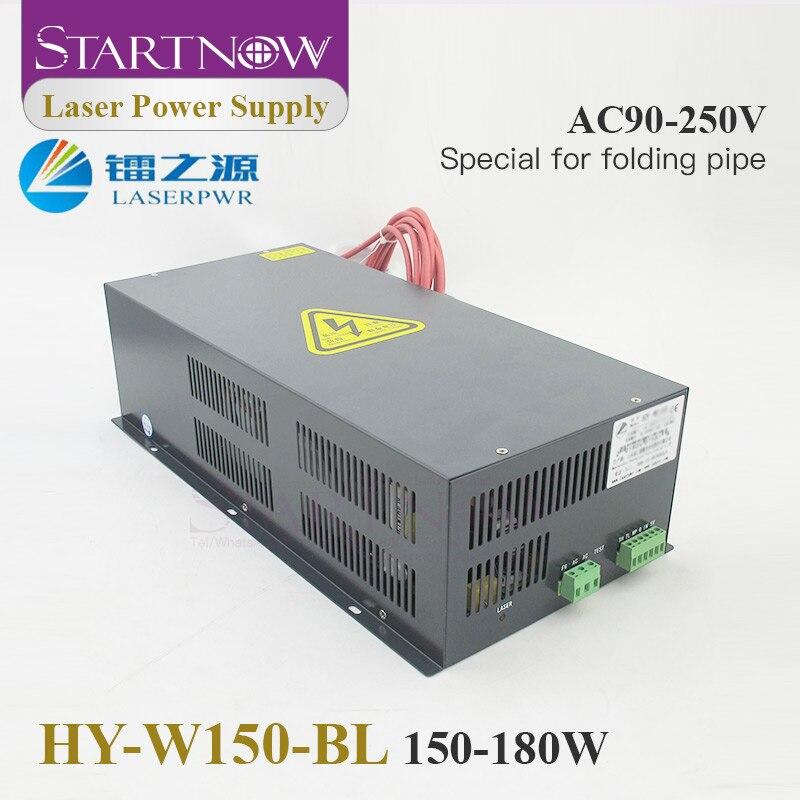 Startnow HY-W150-BL Co2 Laser Power Supply 110V 220V for 300W-800W Co2 Folding Laser Tube 150W Generator PSU 180W Laser Source