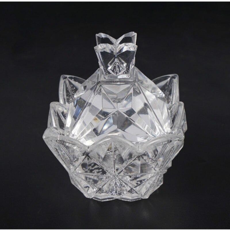Cutting Diamond Crystal Trinket Box Silicone Mold Exquisite Tray Mold Kawaii Epoxy Resin Art Supplies Storage Box Jewelry Mold