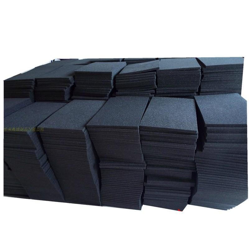 10pcs High Density Soundproofing Foam Tiles 200x200 3/10/20mm Sound-Absorbing Noise Sponge Foam For KTV Audio Room Studio Room