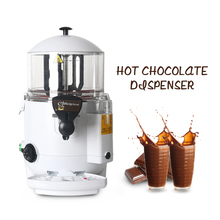 5L/10L Commercial White/Black Hot Chocolate Cooker Electric Baine Marie Mixer chocofairy Dispenser Machine Kitchen Tools commercial hot chocolate machine 10l electric baine marie mixer chocofairy dispenser machine