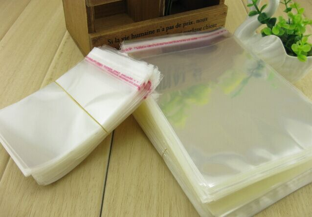 Accessories Packing Bags OPP Adhesive Sticker Self-Adhesive Packing Bags Thick Top Grade Material Fully Transparent Color