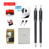 Cost effective For home use 200kg Dual Swing Gate Opener Kits with wifi camera Optional Remote monitoring gsm relay door opener