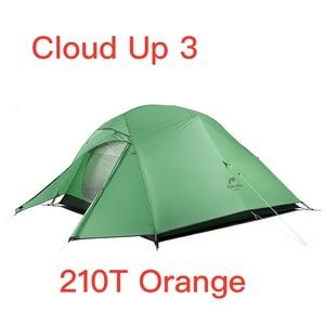 Image 4 - Naturehike Cloud Lên Serie 123 Nâng Cấp Lều Cắm Trại Chống Nước Ngoài Trời Đi Bộ Đường Dài Lều 20D Nylon 210T Mang Trang Bị Sau Lưng Lều Với Giá Rẻ thảm