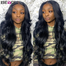 Cheap High Density Indian Hair Body Wave Transparent Lace Front Wig ​Human Hair Wigs For Black Women T Part Lace Wig Human Hair