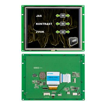 цена на 8 inch Resistive Touch Screen Panel with Controller + Program for Automation Machine