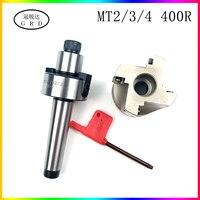 1set MT2 MT3 MT4 FMB22 FMB27 FMB32 schaft spindel 300R 400R 50L 63L fräser kopf BAP300 BAP400 spindel werkzeug halter MT FMB-in Werkzeughalter aus Werkzeug bei