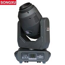 SONGXU 250 ワット竪琴 LED 移動ヘッドライトビーム/スポット/ズームと 8 ファセットプリズムステージパーティーライト/SX MH250