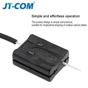 Image 2 - Fiber optik kablo ceket eğme Fiber optik alet uzunlamasına ışın tüpü gevşek tüp arayüz bıçak stripper Fiber gevşek tüp