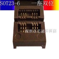 Sot23-6 Тесты гнездо сжигание разъем burn-в разъем адаптера Sot23-5-3