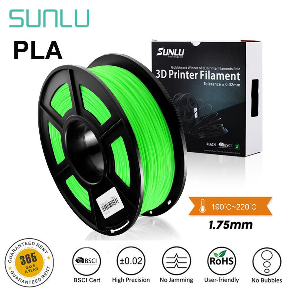 PLA Filament 1.75mm 9 Colors High Quality PLA Filament For All Types FDM Printer Modeling Non-toxic Eco-friendly Consumables