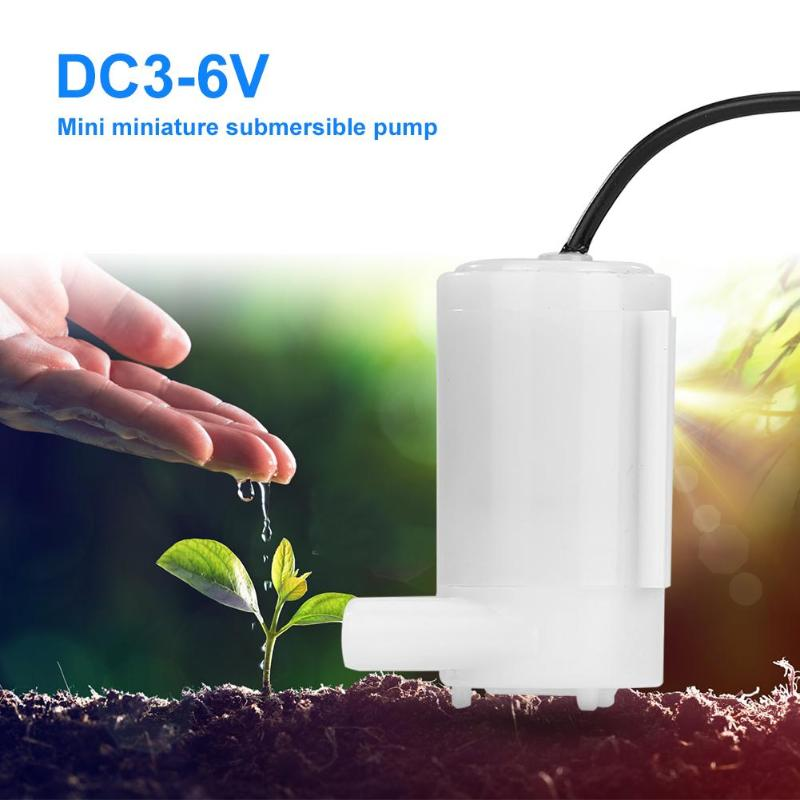 DC3-6V Mini Water Pump Micro Submersible  Low Noise Brushless Motor Pump Low Noise Brushless Motor Pump 80-100L/H