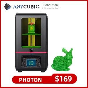Image 1 - ANYCUBIC Photon набор из смолы на основе растений 3D принтер УФ ЖК дисплей 2K экран размера плюс Impresora 3D Drucker Impressora УФ смола