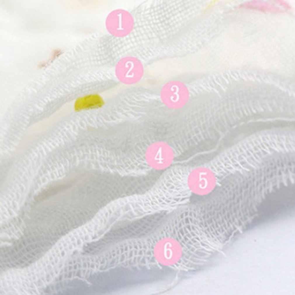 6 camadas seersucker bib triângulo toalha de saliva do bebê toalha macio e confortável babador babador babador babador de alimentação do bebê