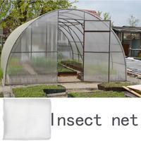 Rede de mosquito inseto anti pássaro net colheita proteção vegetal malha fina jardim frutas árvore estufa controle pragas jardim