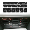1x Автомобильная Кнопка кондиционера, наклейки для ремонта, наклейки для Audi A4 B6 B7 2000 2001 2002 2003 2004