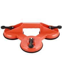 Orange Suction Claw Floors Tile Sturdy Plastic Sucker Glass Sucker Extraction Device Durable Practical aluminum single claw two two claw three claw glass sucker tile floor suction extractor suction cup