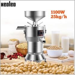XEOLEO Grinding soybean machine Soy Bean Grinder Refiner soymilk machine Electric Funnel slurry self-separating stone grinding