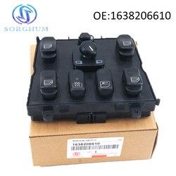 Nowy 1638206610 A1638206610 przełącznik elektrycznego sterowania oknem dla 1998 2005 mercedes benz ML320 W163 ML400 ML430 ML500 A 163 820 6610 w Przełączniki i przekaźniki samochodowe od Samochody i motocykle na