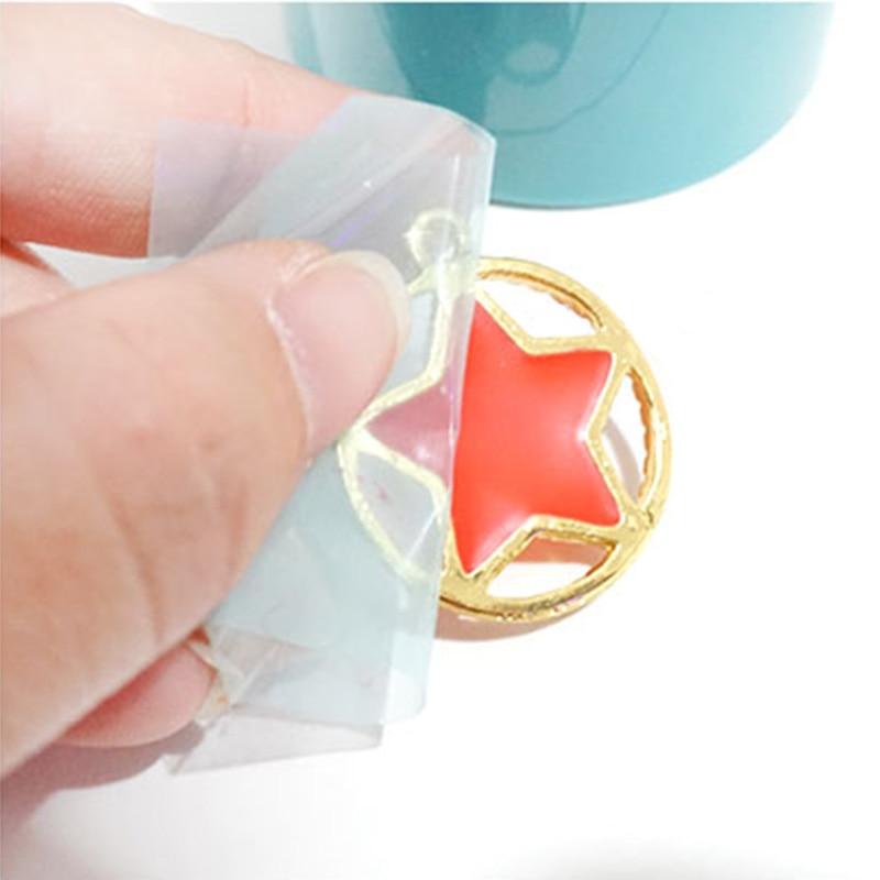 New 4cm*5m Paper Tape For Metal Frame DIY Jewelry Pendant UV Resin Adhesive MV66