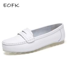 EOFK Spring Women Flats Shoes Woman Ladi