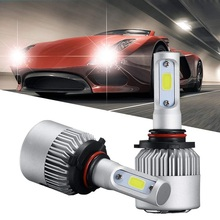 1 set H4 H7 H11 H8 9006 HB4 H1 H3 HB3 turbo LED canbus Auto Car Headlight 36W 3800LM led far low Beam Bulb Automobile Lamp 6000K