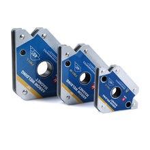 Multi-winkel Schweißen Magnet Magnetischer Halter Pfeil Clamp 45 ° /90 °/ 135 ° für Schweißen Magnet 55LBS 110LBS 165LBS Eisen Werkzeuge