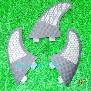 Image 4 - Ensemble de dérives de planche de surf 3 pièces, pour FCS box G7, en fibre de verre nid dabeille de carbone taille L FCS, offre spéciale