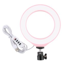 Pu377F 4.7 Inch 12Cm Usb 3 Modes Dimmable Led Ring Vlogging Photography Video Lights Led Ring Fill Light