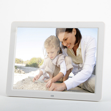 12 inch Digital Picture Frame with 4/3 1204x768 LED Display IR Remote Control Music Movie