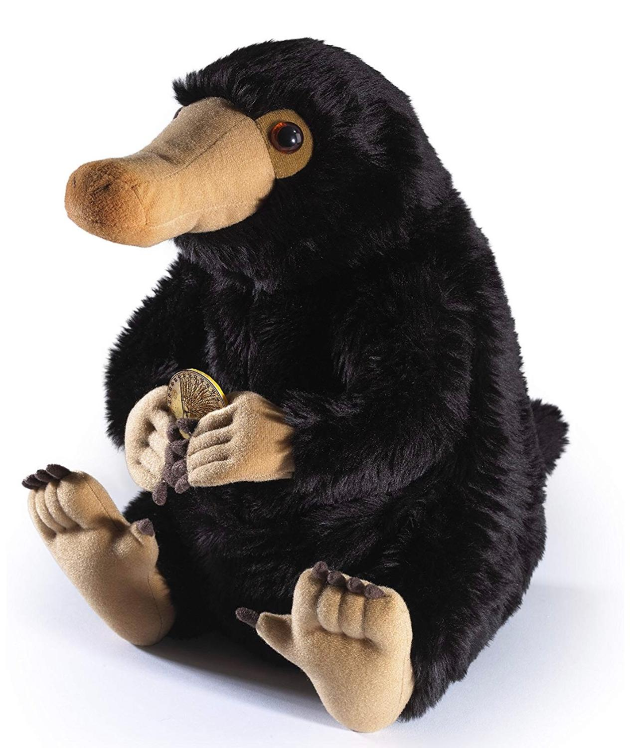 8'' 20 Cm Where To Find Them Niffler Fantastic Beasts Plush Toy Fluffy Black Duckbills Cute Soft Stuffed Animals For Kids Gift