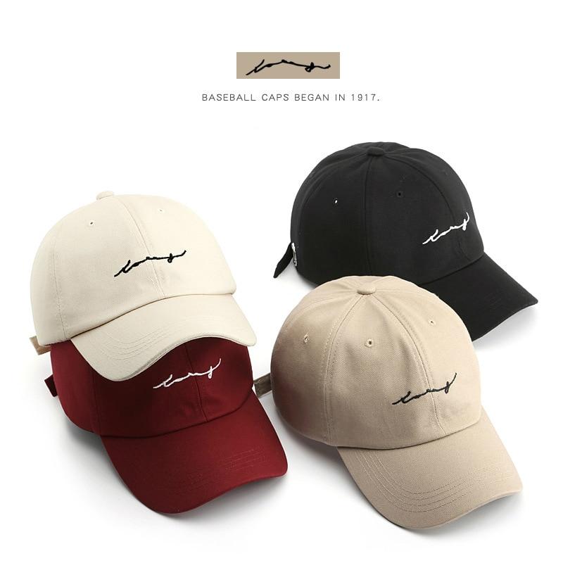 SLECKTON Men's Cotton Baseball Cap Casual Snapback Hip Hop Cap For Women's Letters Embroidery Summer Visor Hats Gorras Hombre