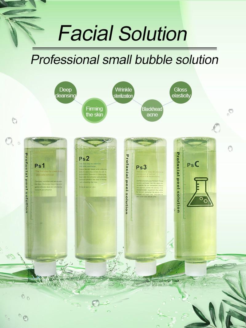 Hot Sale PS1 PS2 PS3 PSC 4 Aqua Peeling Solution 500Ml Aqua Facial Serum Hydra Dermabrasion Facial Serum For Normal Skin