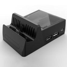 Base de carga de conversión de vídeo HDMI para Nintendo Switch