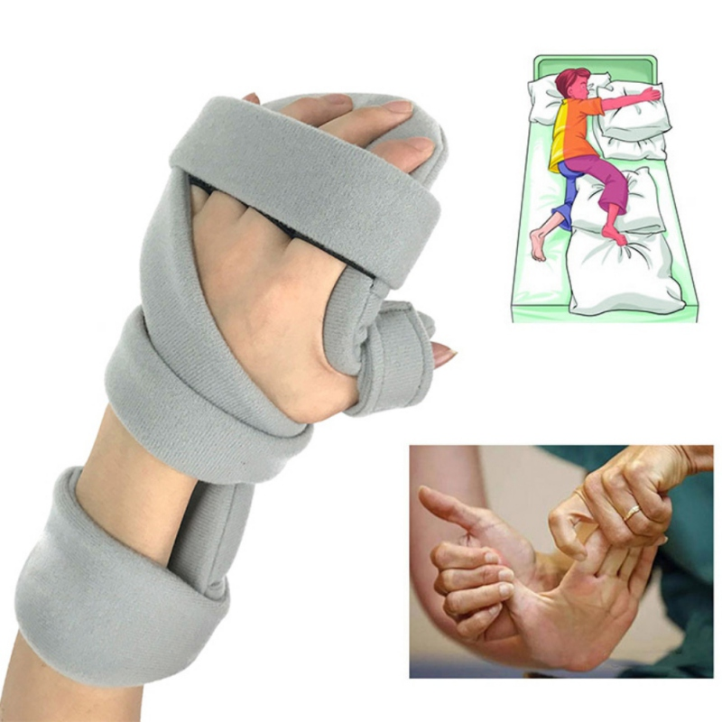 Wrist Support Brace Finger Hand Splint Strap Carpal Tunnel Splint Fingers Palm Bone Fracture Fixed Orthosis Plate Rehabilitation