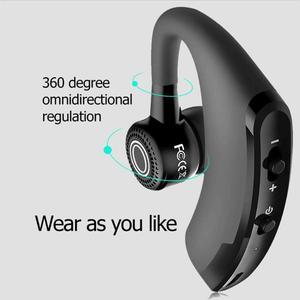 Image 4 - ALLOET tek Stereo kablosuz kulaklık V9 Handsfree iş Bluetooth kulaklıklar akıllı telefonlar ve tabletler için spor kulaklık