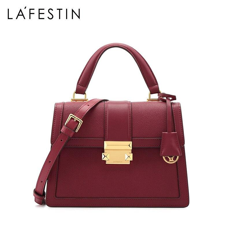Image 3 - LAFESTIN 2019 new luxury handbags fashion leather handbag  qualities shoulder messenger bag ladies tote bolsa femininaShoulder  Bags